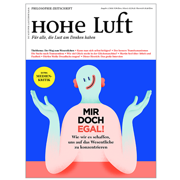 Cover Hohe Luft 1/ 2018